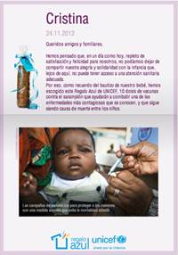 regalos comunion unicef