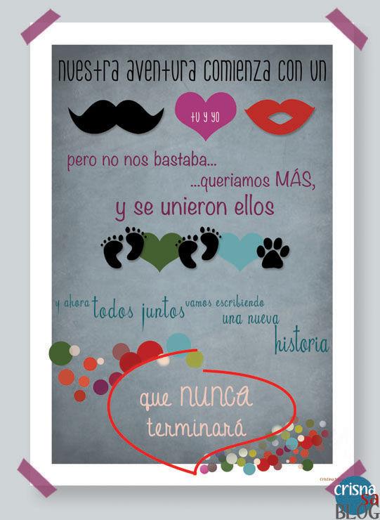 Regalos Personalizados Con Fotos Para Hombres.Regalos Personalizados Para San Valentin Lamina Familiar