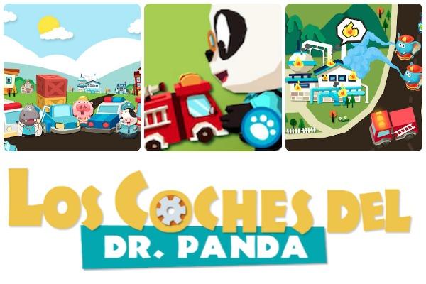 dr panda toys cars app infantil