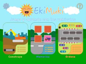 EkiMuki App infantil educativa